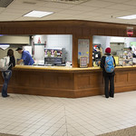 "<b>Dining Services Rennovation.</b><br/> Photos depicting the newly rennovated dining options. <a href=""http://farm4.static.flickr.com/3770/13872015453_51d4408768_o.jpg"" title=""High res"">∝</a>"