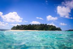 Mounu Island, Tonga (paul.wienerroither) Tags: ocean travel blue summer sky nature water clouds canon photography islands paradise clear snorkling southpacific tonga mounu mounuisland