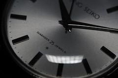 King Seiko First Model, KS 15034 (Dial) (anthonyleungwatches) Tags: macro ed hongkong stainlesssteel mechanical watch dial olympus 60mm seiko f28 omd 1963 m43 acrylicglass 25j mft mzd em5 15034 sooc manualwinding daini diashock 25jewels kingseiko microfourthirds mzuikodigital 18000bph dainiseikoshaco