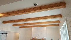 Ceiling Beams Before