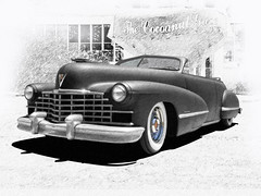 1946 Cadillac (bindare2) Tags: custom customhotrod coolcars photoart slammed photoshop topaz cruiser chopped carimages carcustoms carartwork carartpictures carartphotos car carart automobile americancars american 1946 vehicle cadillac v8