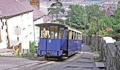 Photo of Llandudno UD Council: Great Orme Tramway Car 5 climbing on Old Road