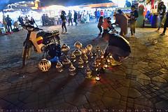 Beautiful lanterns (T Ξ Ξ J Ξ) Tags: morocco marrakesh djemaaelfna d750 nikkor teeje nikon2470mmf28 street stall lanterns