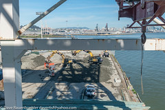 Pier 96 Zaccor Demolition 3-2017 (daver6sf@yahoo.com) Tags: pier96 p96 portofsanfrancisco salvage skyline containercrane piles