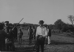 Tom Northup  in Ethiopia 1952 (Bury Gardener) Tags: ethiopia africa 1950s 1952 oldies old bw blackandwhite snaps