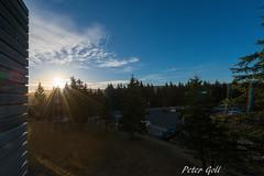 Sonnenaufgang, Ringberg in Suhl (pego28) Tags: erlangen germany urlaub holiday vacation sunrise sonenaufgang ringberg ringberghotel suhl thüringen deutschland himmel sky blue blau