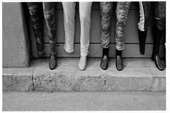 (rygielski.piotr) Tags: budapest budapeszt street streetfoto legs bessa bessar3a analog summicron summicronm50 50mm kodak trix 400800 d76
