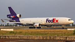 Federal Express McDonnell Douglas MD11F N612FE Bangalore (BLR/VOBL) (Aiel) Tags: federalexpress fedex mcdonnelldouglas mdd md11 md11f n612fe bangalore bengaluru canon60d tamron70300vc