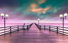 Seebrücke Binz (Stefan Kalweit) Tags: holiday urlaub beautyful ostdeutschland mecklenburgvorpommern mcpom binzerode seebrücke pier art ostsee balticsea rügen binz