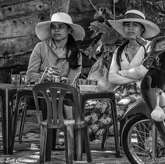 20170320-810_3280_ (Erik Christensen242) Tags: khánhhòa vietnam vn vangia women hats street restaurant bw monochrome coffee