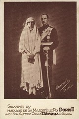 Wedding of King Boris of Bulgaria with Princess Giovanna of Italy (Miss Mertens) Tags: king princess sofia postcard royal prince queen bulgaria rey kaiser regina reine royalty monarchy cartolina adel oldfashioned roi prinz royalfamily bulgarie knig postkarte principe knigin principessa nobility bulgarien prinzessin monarchie monarchia kaiserin picturecard koningshuizen casareale familleroyal