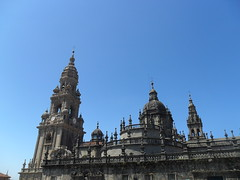 The Cathedral (caitlin.hassler) Tags: spain hiking santiagodecompostela pilgrim elcaminodesantiago thewayofstjames