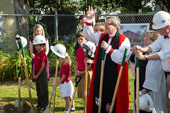 St Andrew's groundbreaking May 2013-8056 (babaroosifer) Tags: school john ceremony standrews shovel groundbreaking barousse 2013 masonlecky mothergaumer