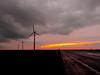 one huge road (Dietjee) Tags: road sunset windmills weg windmolen cloudswolken n701 oostvaardersdijk oostvaarderplas netherlandsflevoland