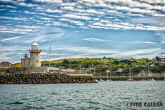 Howth harbour, Dublin (isitaboutabicycle) Tags: ireland sea howth dublin lighthouse seascape port landscape harbor pier boat harbour yacht jetty hill seashore