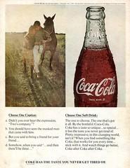 1968 Coca Cola Coke Advertising Hot Rod Magazine August 1968 (SenseiAlan) Tags: hot magazine advertising cola coke august rod cocacola 1968 coca