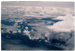 Above the clouds (Khnh Hmoong) Tags: summer sky film clouds analog 35mm aerial analogue fujisuperia200 nikonfm