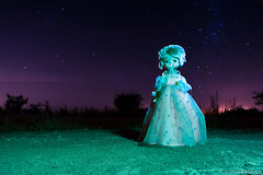 Mueca nocturna 3 (Juan Gargiulo) Tags: night doll nightshot nocturna starry mueca nightshoty