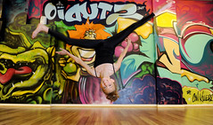 Dancer (Alex Hannam) Tags: news graffiti dancer flip