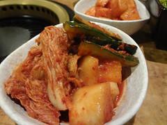Assorted KImchi @Renka, Hongqiao, Shanghai (Phreddie) Tags: china friends party japanese restaurant yum shanghai beef bbq meat eat korean barbecue sendoff yakiniku hongqiao doki renka 130628