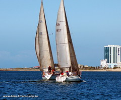 """Fleet 2 yachts sail towards Radisson • <a style=""""font-size:0.8em;"""" href=""""http://www.flickr.com/photos/99242810@N02/9344160086/"""" target=""""_blank"""">View on Flickr</a>"""