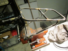 Pelican Rando Rack (jimgskoop) Tags: blue bicycle cycling pelican custom racks randonneur boxdogbikes 2013 bdb eyefi