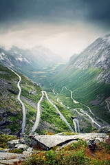 Trollstigen (Youronas) Tags: road street norway rock canon landscape norge rocks pass norwegen route valley 7d fjell mountainpass trollstigen mountainroad 1585 canon7d canon1585 trollsladder isterdal
