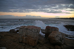 Hermanus sunset (Osdu) Tags: world africa travel sunset tourism hermanus southafrica atlanticocean quarzoespecial