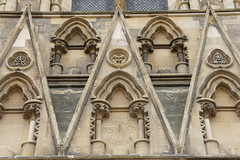 York Minster (notFlunky) Tags: york uk england building church architecture facade cathedral yorkshire w number letter alphabet minster