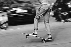 Longboarder (Ale Romo) Tags: bw spain surf waves salinas longboard vanssalinaslongboardfestival