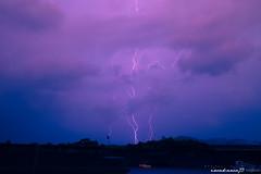 Lightning (iwakawa73) Tags: light summer sky cloud art nature rain japan port 35mm canon landscape photography eos f14 sigma kagoshima september lightning dslr 6d iwakawa73