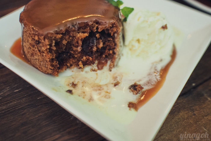 Kooka Cafe Sticky Date Pudding