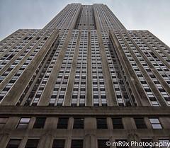 Empire State Building (MR9X Photography) Tags: street nyc newyorkcity sky ny newyork skyscraper canon manhattan landmark powershot midtown empirestatebuilding canong1x