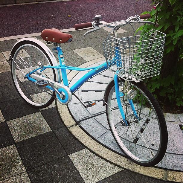 中古自転車 中古自転車 京都 北区 : 大人用自転車に見えますが、子 ...