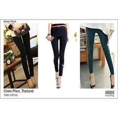 กางเกงเอวสูงสกินนี่แฟชั่นเกาหลี พร้อมส่งTJ7142 นำเข้า ราคา670฿ โทรสั่ง083-1797221 www.lotusnoss.com, Line ID:lotusnoss, WeChat ID:lotusnoss #กางเกง #เอวสูง #สกินนี่ #พร้อมส่ง #legging #fashion #pants #lotusnossshop #lotusnoss