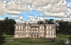 Calke Abbey (yph photography) Tags: old trees windows sky house green abbey clouds photography path lawn national trust pillars hdr strips calke yampy