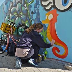 Project Stadsbaken (Akbar Sim) Tags: holland netherlands graffiti nederland denhaag thehague spui ververstraat agga lamgroen akbarsimonse akbarsim stadsbaken