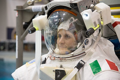 Prior to an NBL run (AstroSamantha) Tags: review