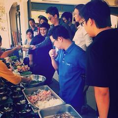 """ขอขอบคุณ """"พี่ๆชาวขอนแก่น ทั้ง 280 ท่าน"""" ที่ไว้วางใจ #JMcuisine ในการ #จัดเลี้ยง #buffet #อาหารแนะนำ #ข้าวไข่ข้นซอสต้มยำกุ้ง #ราดหน้าเย็นตาโฟ #ก๋วยเตี๋ยวหมู/เนื้อ/ไก่ #บะหมี่ไข่เจียวกรรเชียงปูราดซอสตาลโตนด   www.JM-cuisine.com"""