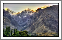 Morning in Huza valley Gilgit Pakistan (saleem shahid) Tags: