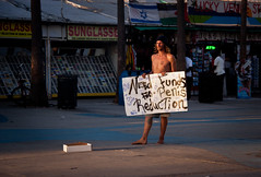 """Need Funds for Penis Reduction"" Guy - Venice Beach, California (ChrisGoldNY) Tags: chrisgoldny chrisgoldberg chrisgoldphotos chrisgoldphoto chrisgold canon posters poster forsale albumcover albumcovers bookcover bookcovers losangeles losangelescounty laist california southerncalifornia socal venice venicebeach people humor funny humour guys men candid penisreduction quirky strange bizarre weird signs beggars postcards life warmth alive greetingcards"
