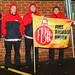 FBU picket at Sprowston Road Fire Station early this morning