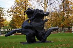 """Tuileries garden """"FIAC Hors les murs"""" - Paris"""
