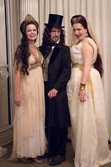 Dracula & Brides (Tara, Paul, & Kendra) (demode) Tags: dracula peers 2013 bramstokersdracula vampireball belladonnavenetiancourtesans belladonnahistoricalperformers