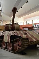 Panther Ausf. G. (DSC_0063) (AngusInShetland) Tags: bovingtontankmuseum panther ausfg bovington bovingtonmuseum tankmuseum tank panzer armour armor worldwartwo german military militaryvehicle germantank battletank