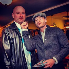 """Chin checkin @johnmcgoughjr #whitecollarbrawlers #premier #esquire #realityshow #premier another great pic from @marcoiphotos #mergingmedia • <a style=""""font-size:0.8em;"""" href=""""https://www.flickr.com/photos/62467064@N06/10985934455/"""" target=""""_blank"""">View on Flickr</a>"""