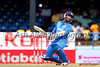 Dinesh Karthik avoids a bouncer
