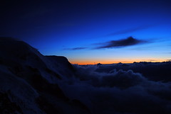Mont Blanc Massif at night (Cian M) Tags: alps du chamonix mont blanc massif tacul cosmiques graian