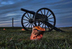 Cannon fire (Deb Felmey) Tags: illumination civilwar cannon antietam battlefield sharpsburg