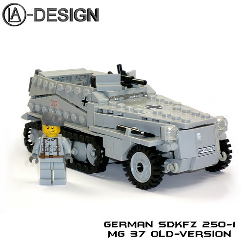 LEGO Custom WW2 german SdKfz 250-1 4